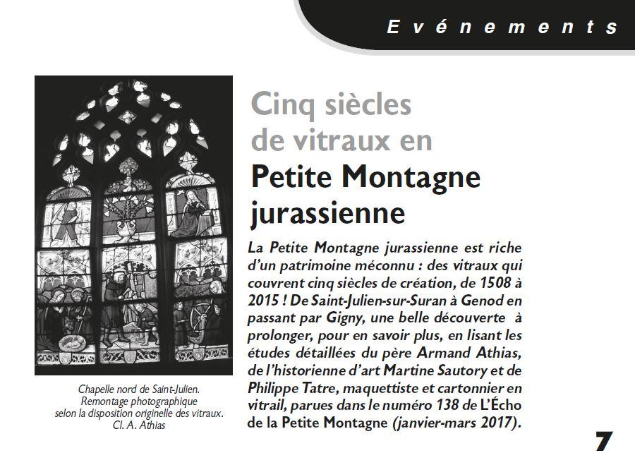 Le Jura Francais Evénements N 313 page 7