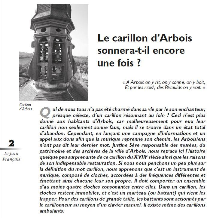 Le Jura Francais Evenements N 314 page 2