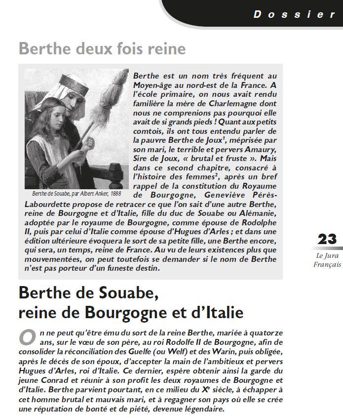 Le Jura Francais Dossier N 315-316 page 23
