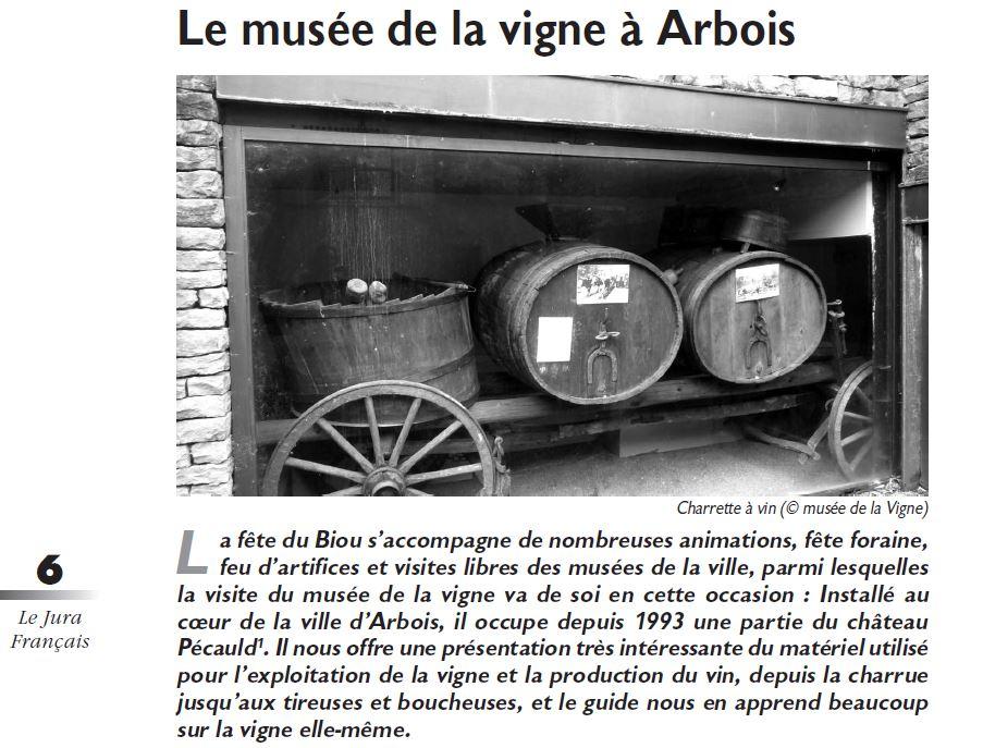 Le Jura Francais Evenements N 317 page 6