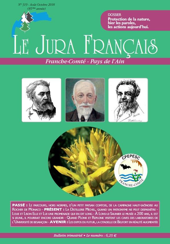 Le Jura Francais N°319 2018 couverture