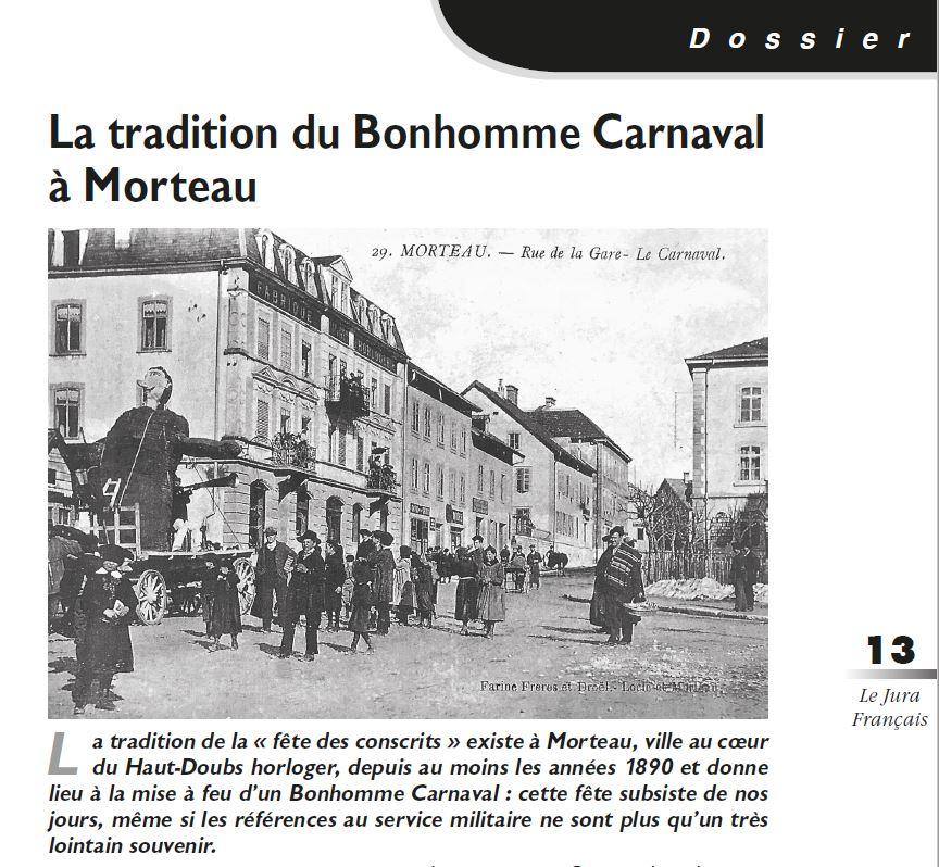 Le Jura Français Dossier N 318 page 13
