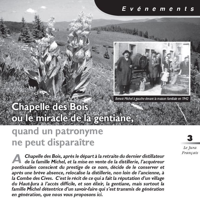 Le Jura Français Evénements N 319 page 3