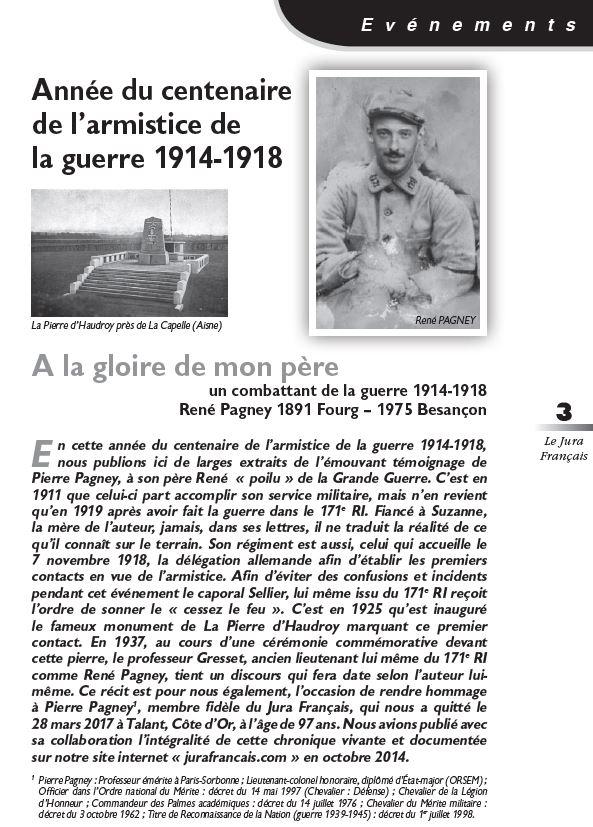 Le Jura Français Evénements N 320 page 3