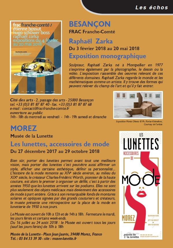 Le Jura Français N 317 Echos 3ieme de couverture