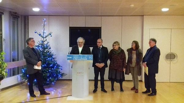 Remise du Prix Louis Pergaud 2018 a Jean-Claude Barbeaux