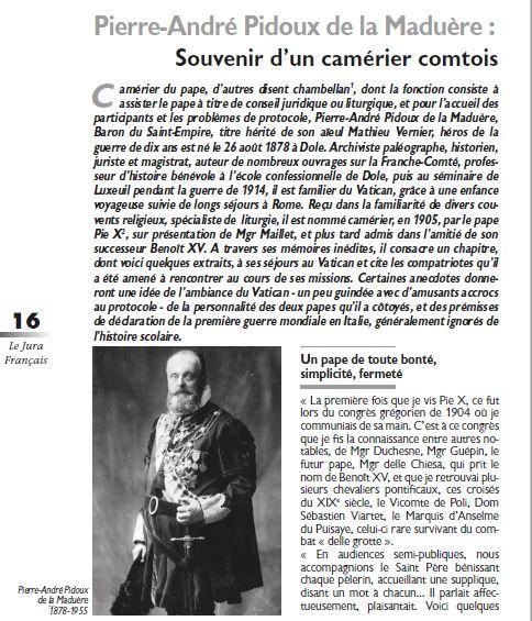Le Jura Francais Dossier N 322 page 16