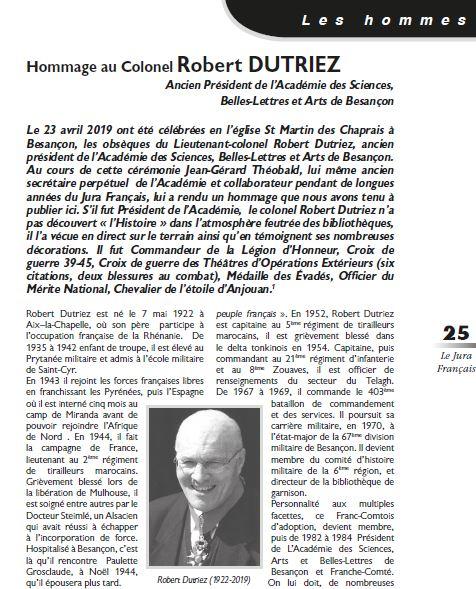 Le Jura Francais Les hommes N 322 page 25