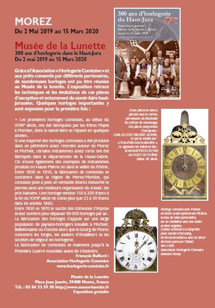 Le Jura Francais N 322 Echos 4ieme de couverture
