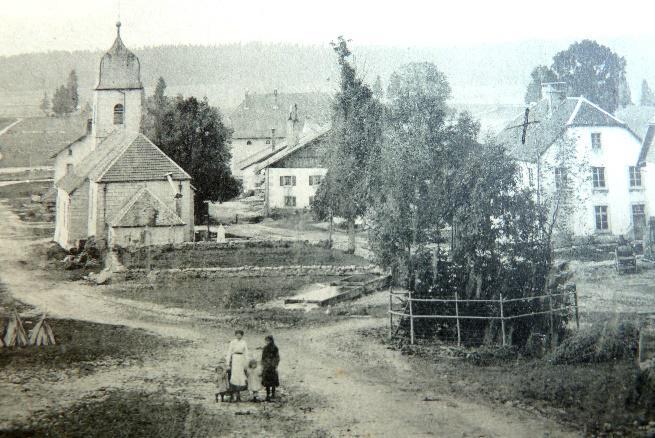 Noel-Cerneux, carte postale ancienne (detail)