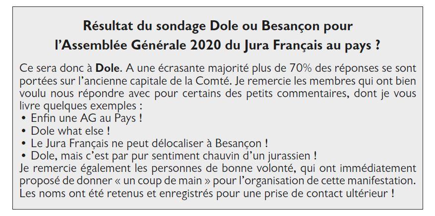 Le Jura Francais Vie de l'association N 324 page 2