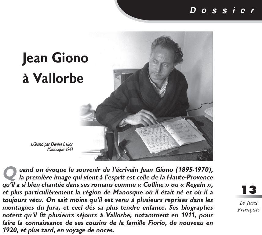 Le Jura Francais Dossier N 325 page 13