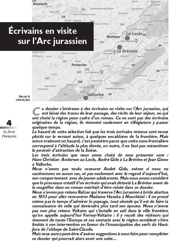 Le Jura Francais Dossier N 325 page 4