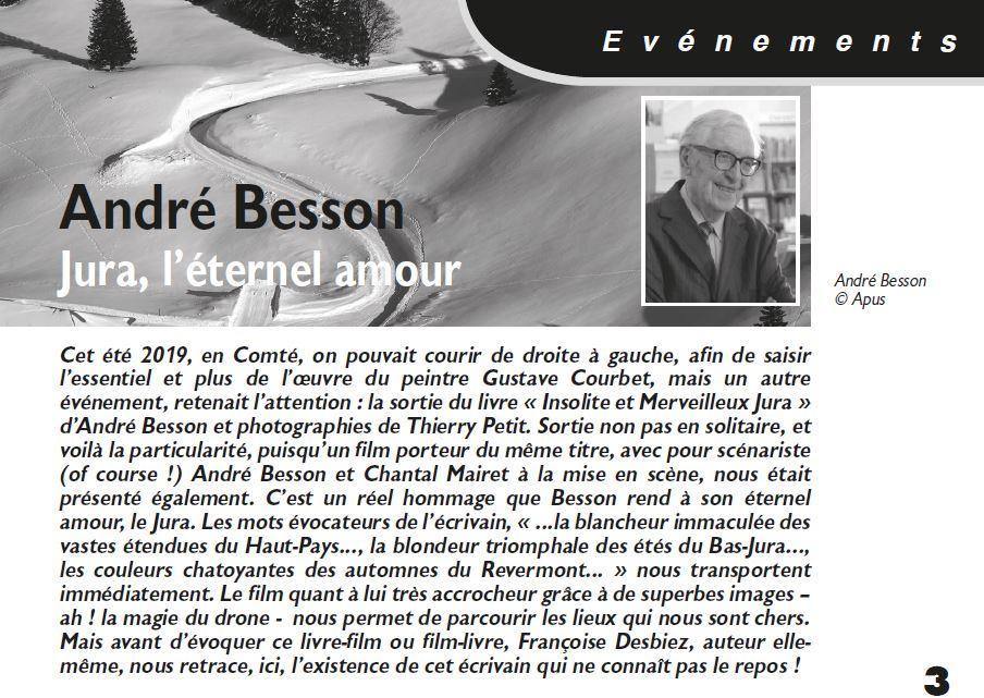 Le Jura Francais Evenements N 323 page 3