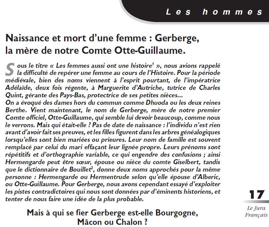 Le Jura Francais Les hommes N 325 page 17
