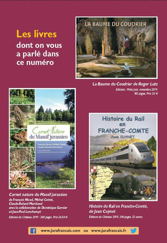 Le Jura Francais N 325 Echos 4ieme de couverture