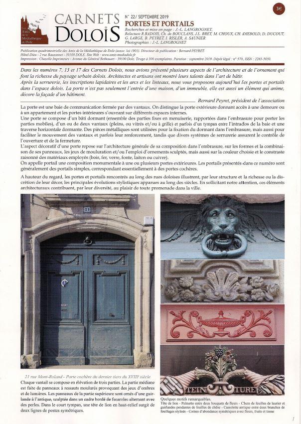 Le Jura Francais N 325 Revue des Publications 5