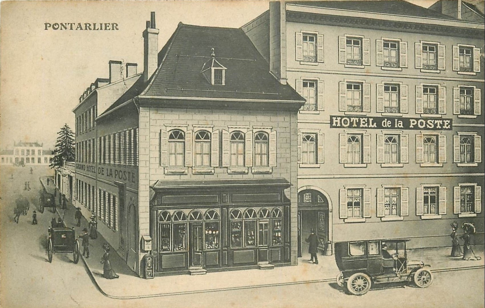 Humour - Oin-Oin - Hotel de la Poste Pontarlier