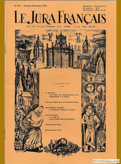 Le Jura Français N° 148 1975
