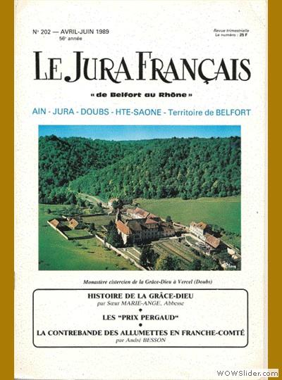 Le Jura Français N° 202 1989