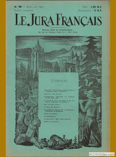 Le Jura Français N° 90 1961