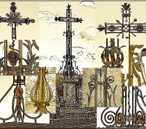 Les croix en fer forgé du Val de Mouthe et alentours