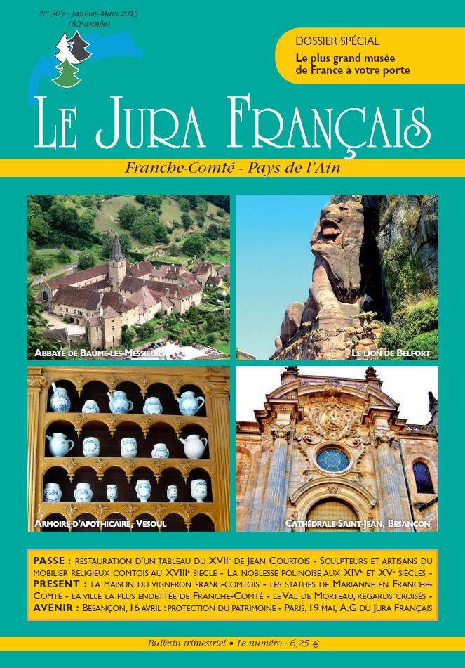 Jura Français N 305 Janvier - Mars 2015