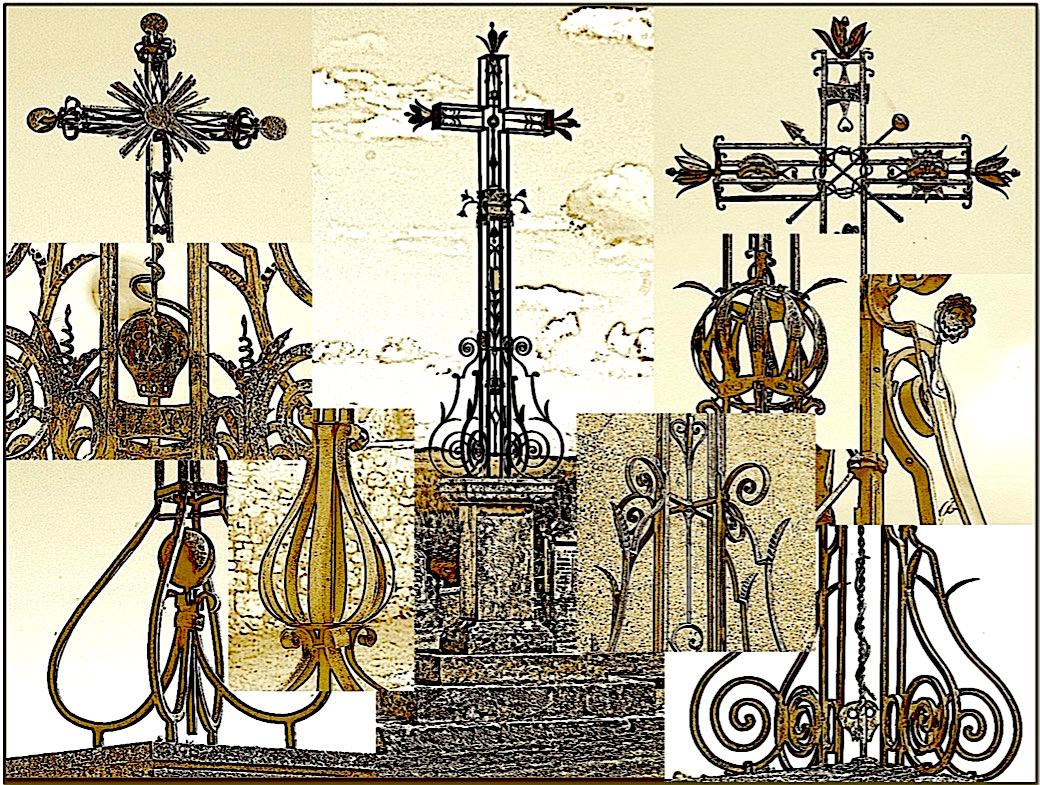 croix en fer forge
