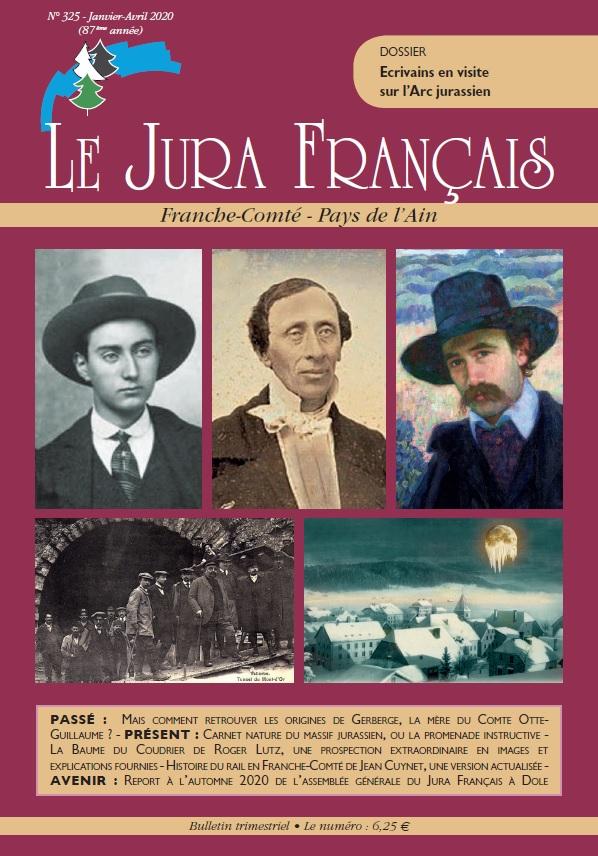 Jura Français N 325 Janvier - Avril 2020 - page de couverture