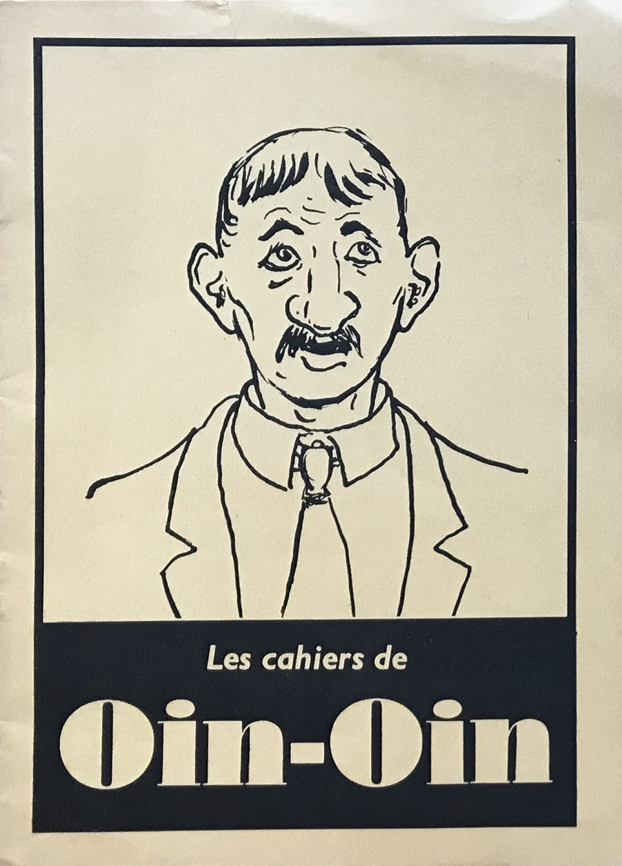 Humour - Oin-Oin - Les Cahiers de Oin-Oin