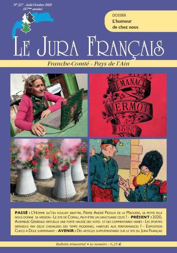 Jura Francais N 327 - Aout-Octobre 2020 couverture